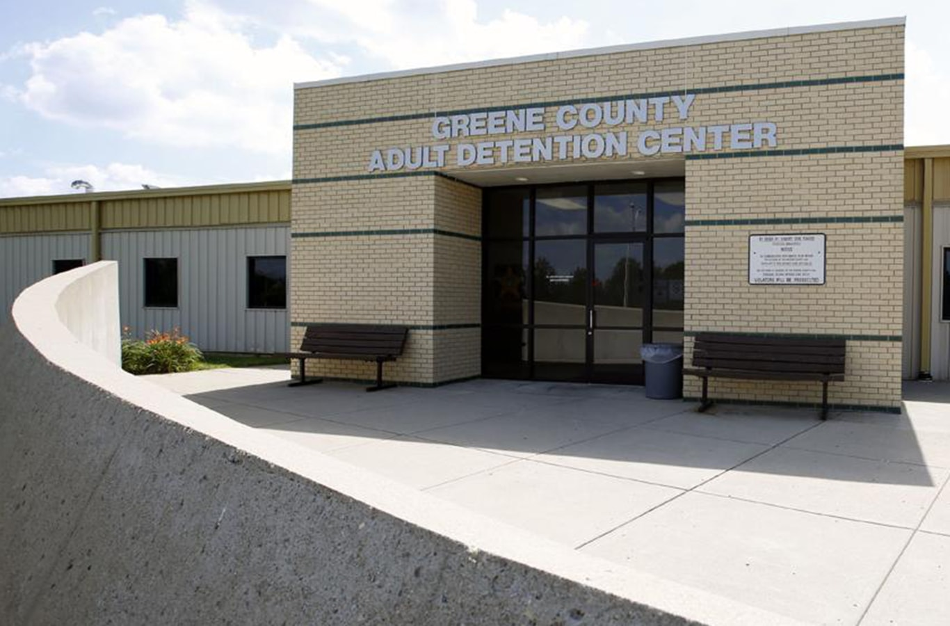 Signature Concrete | Green County Adult Detention Center